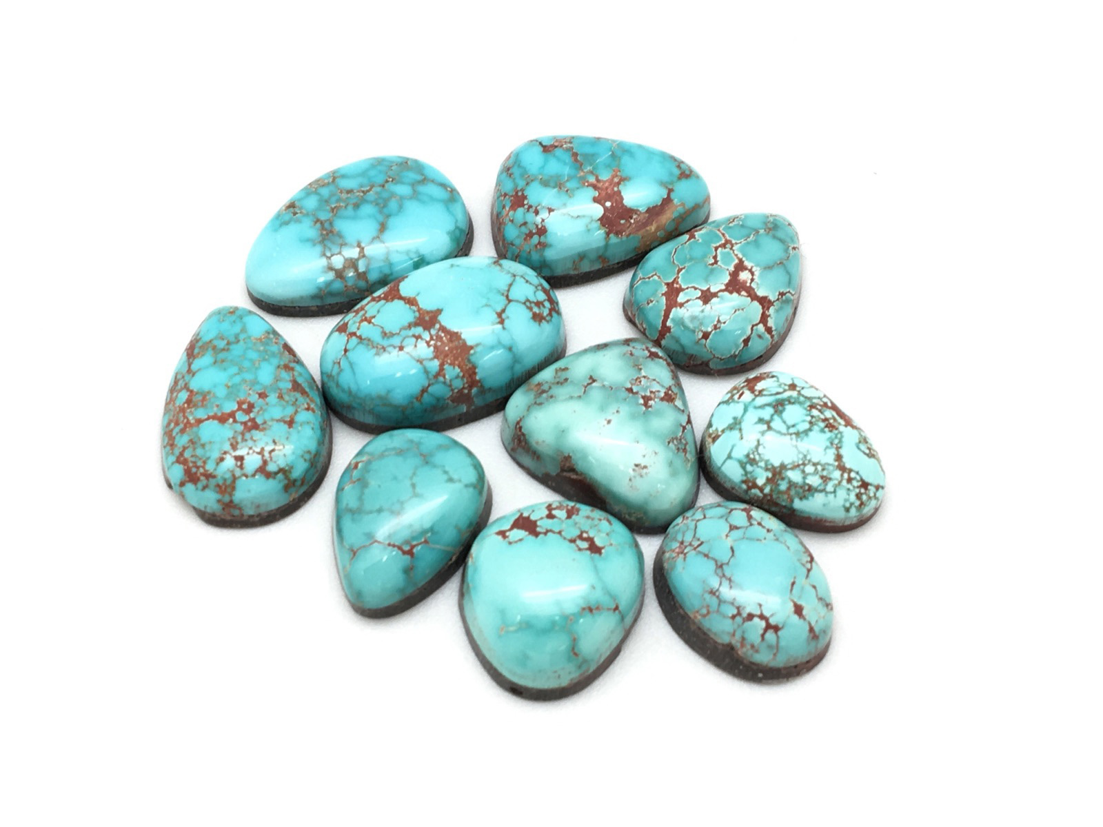 BLUE CARICO LAKE TURQUOISE CABS FROM NEVADA