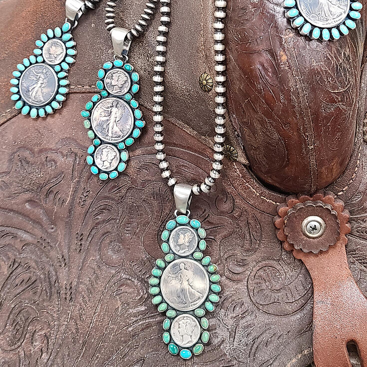 Paul Livingston Vintage Coin Jewelry WESA 2021