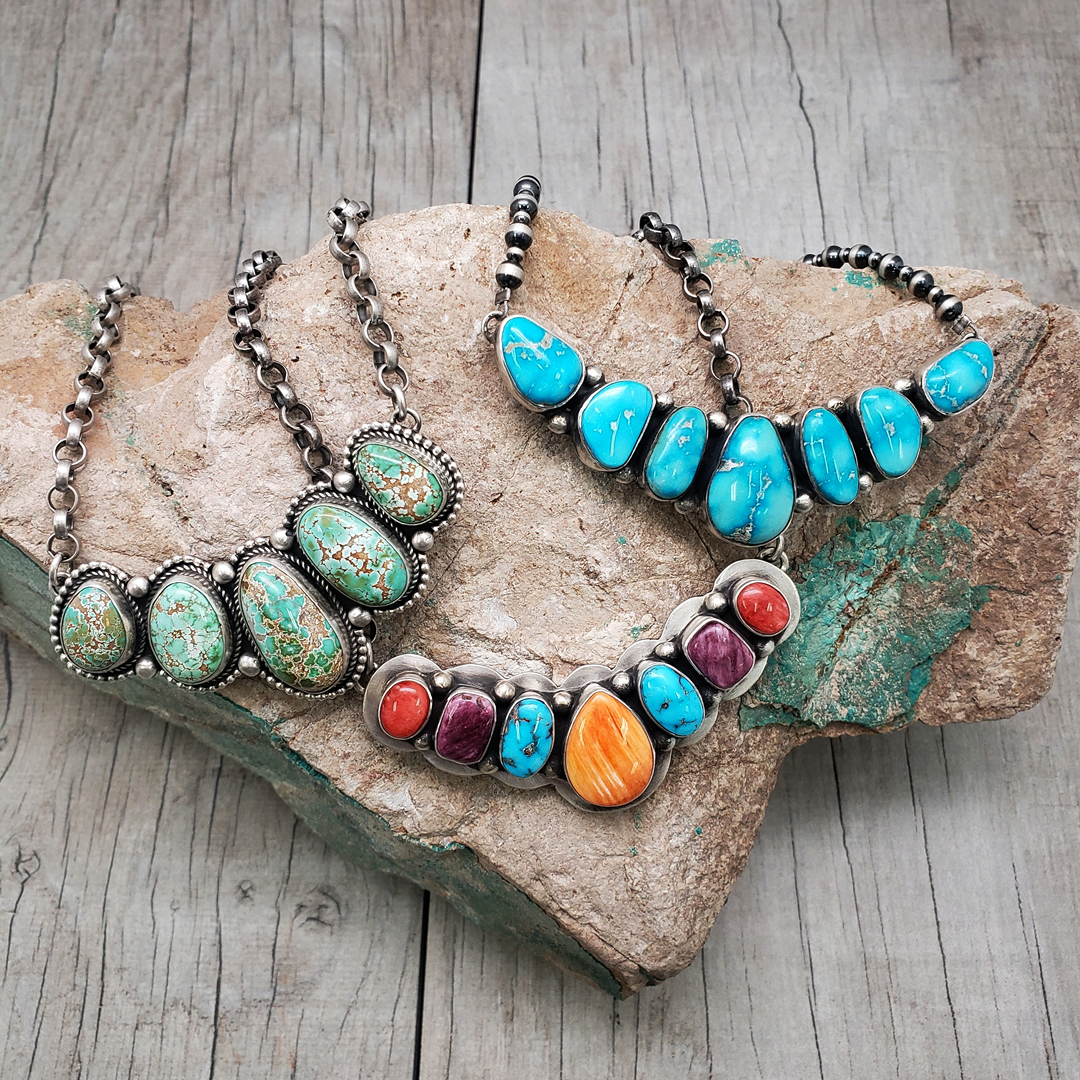 TURQUOISE NECKLACES OXYBEADS